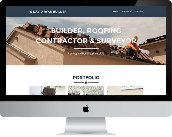 David Ryan Builder Website